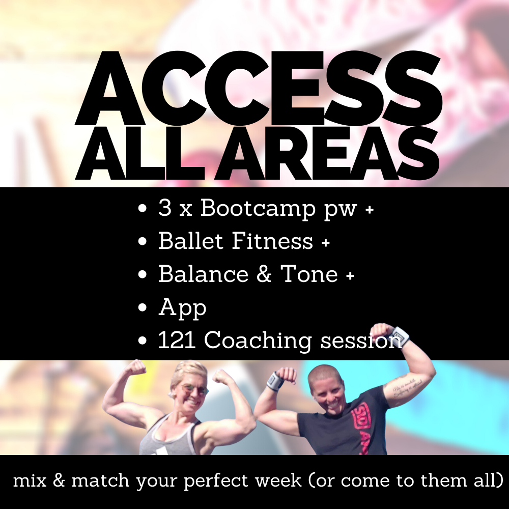 Bootcamp Ballet Fitness and Balance and Tone